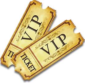 VIP Ticket Clipart